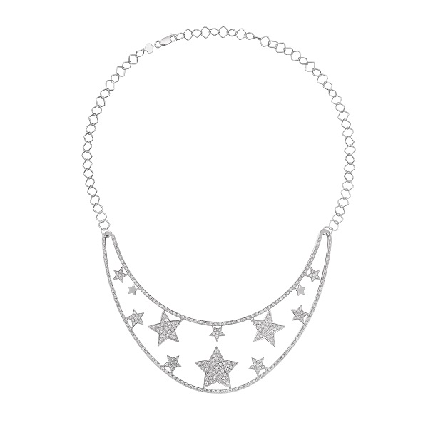 Stella on the moon necklace