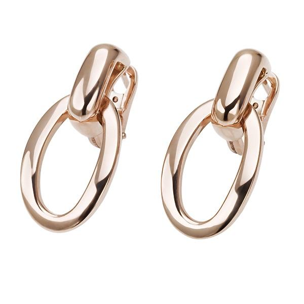 Manette earring oval